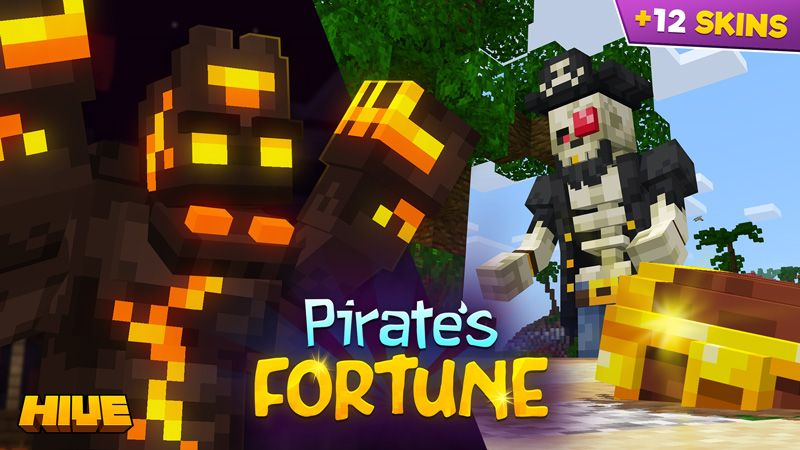Pirates Fortune on the Minecraft Marketplace by The Hive