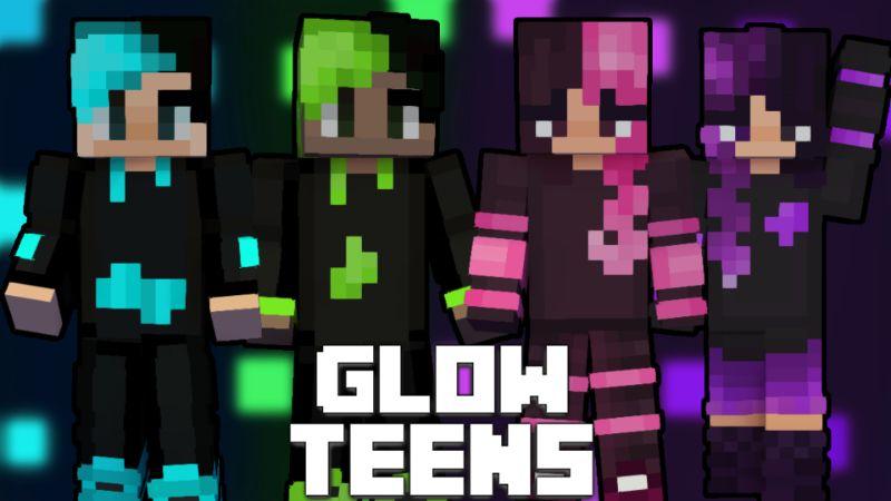 Glow Teens on the Minecraft Marketplace by Pixelationz Studios