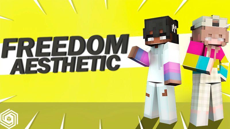 Freedom Aesthetic on the Minecraft Marketplace by UnderBlocks Studios