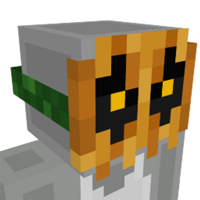 Spooky Pumpkin Mask on the Minecraft Marketplace by Jigarbov Productions