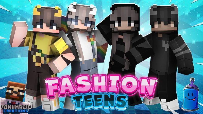 Fashion Teens on the Minecraft Marketplace by Tomhmagic Creations