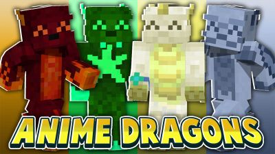 Anime Dragons on the Minecraft Marketplace by Cynosia