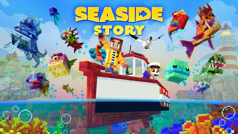 Seaside Story on the Minecraft Marketplace by Gamemode One