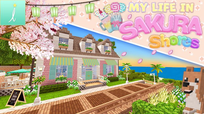 My Life in Sakura Shores on the Minecraft Marketplace by Imagiverse