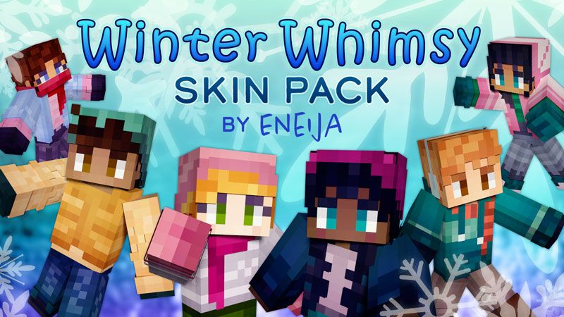 Winter Whimsy Skin Pack on the Minecraft Marketplace by Eneija