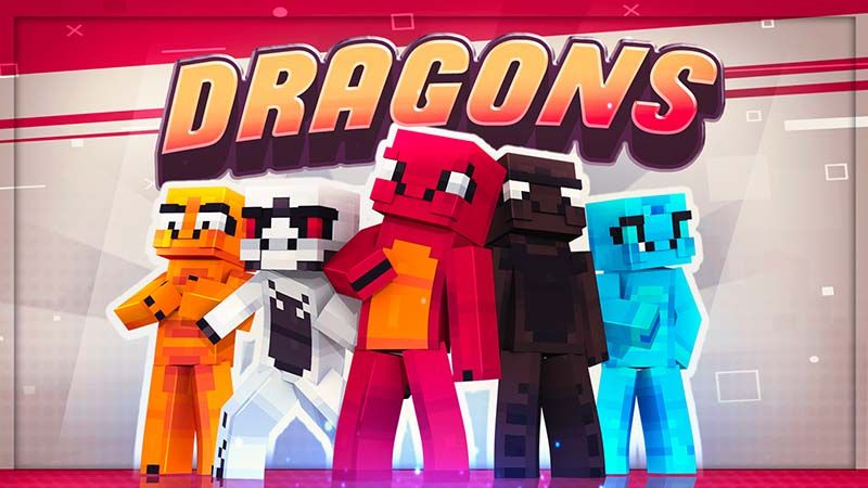 Dragons on the Minecraft Marketplace by Mine-North