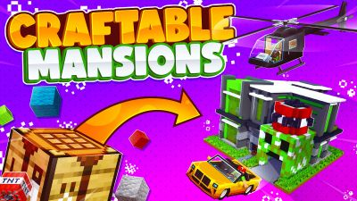 Craftable Mansions on the Minecraft Marketplace by 57Digital