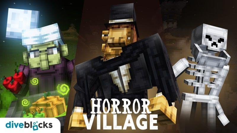 Horror Village on the Minecraft Marketplace by Diveblocks