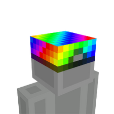 Cool Rainbow Hat on the Minecraft Marketplace by Cleverlike