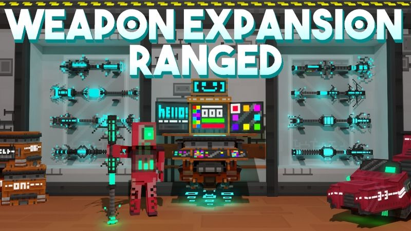 Weapon Expansion Ranged on the Minecraft Marketplace by Snail Studios