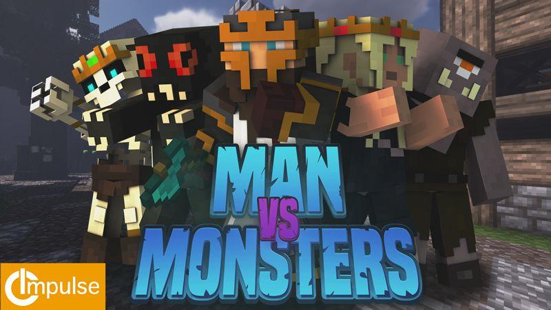 Man vs Monsters Skin Pack