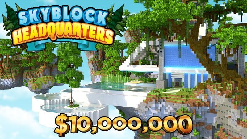 Skyblock Headquarters on the Minecraft Marketplace by 4KS Studios