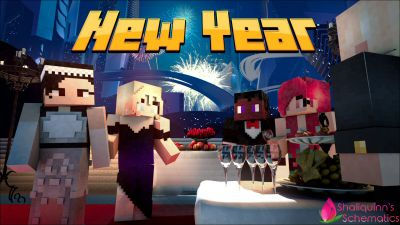 New Year on the Minecraft Marketplace by Shaliquinn's Schematics