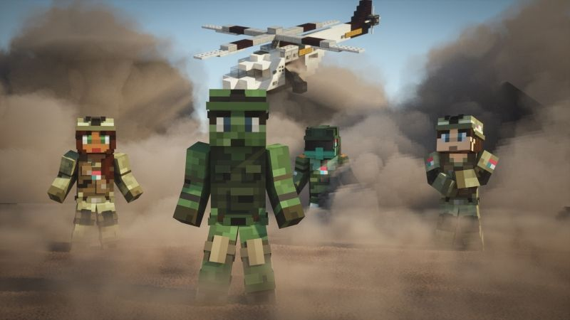 Military Army on the Minecraft Marketplace by Cubed Creations