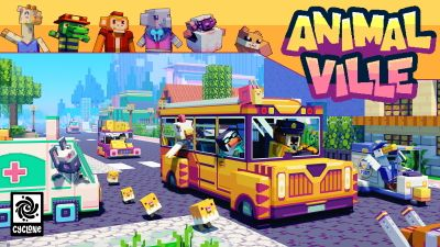 Animal Ville on the Minecraft Marketplace by Cyclone