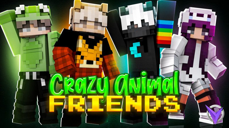 Crazy Animal Friends on the Minecraft Marketplace by Team Visionary