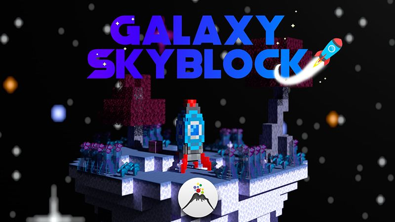 Galaxy Skyblock on the Minecraft Marketplace by Volcano