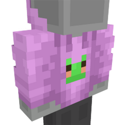 Cute Pink Hoodie on the Minecraft Marketplace by Dodo Studios