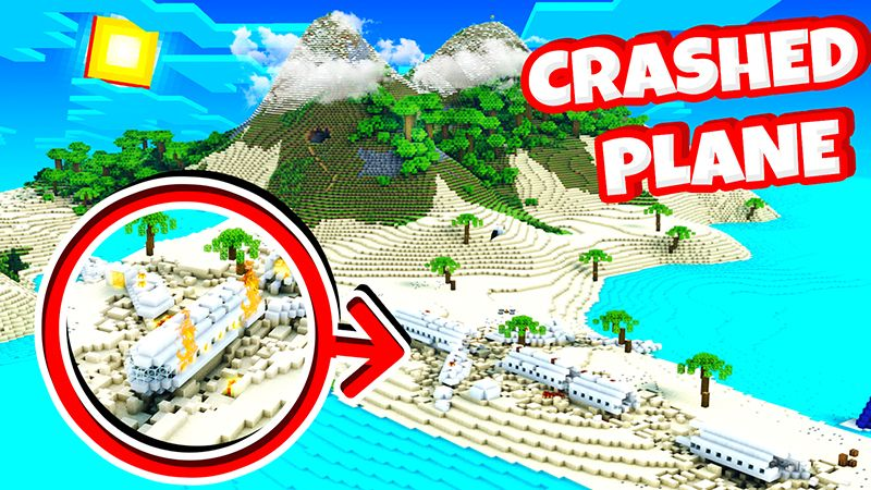 Crashed Plane Island on the Minecraft Marketplace by KA Studios