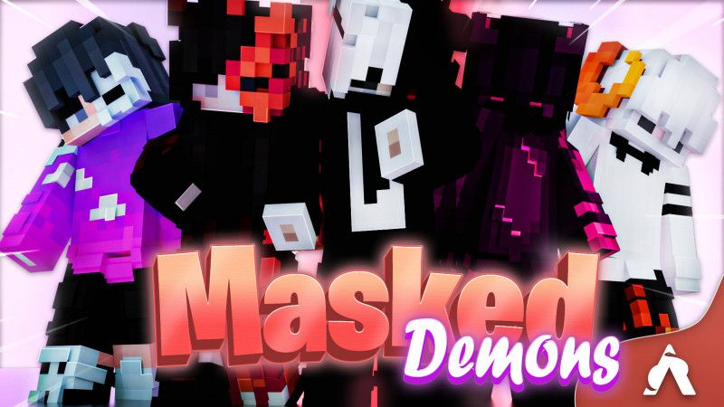 Masked Demons on the Minecraft Marketplace by Atheris Games