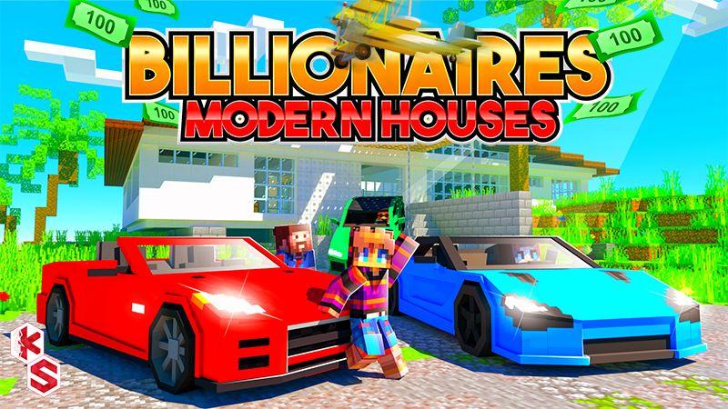 Billionaires Modern Houses on the Minecraft Marketplace by Kreatik Studios