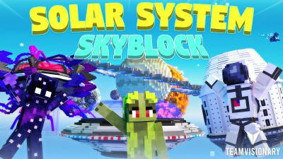 Solar System Skyblock on the Minecraft Marketplace by Team Visionary