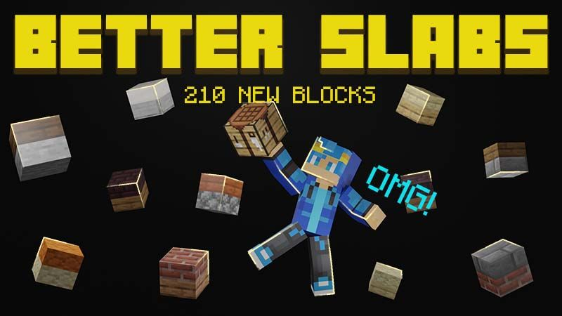 Better Slabs on the Minecraft Marketplace by Mine-North