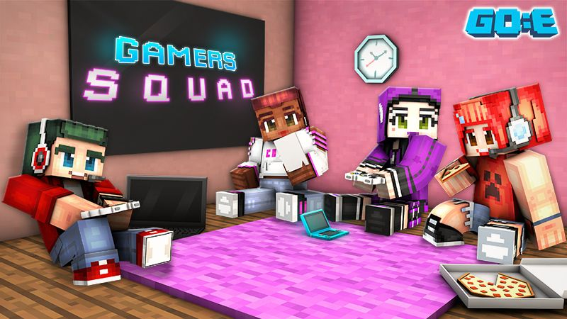 Gamers Squad on the Minecraft Marketplace by GoE-Craft