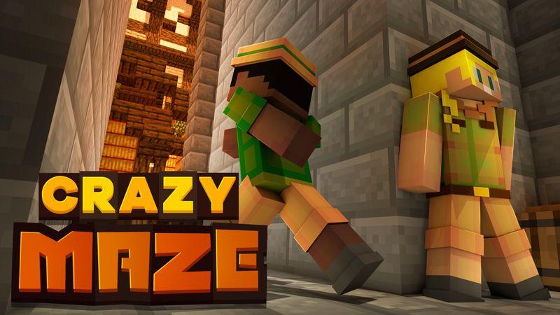 Crazy Maze on the Minecraft Marketplace by HorizonBlocks