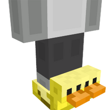 Duck Slippers on the Minecraft Marketplace by 57Digital