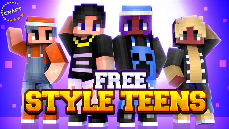 Free Style Teens on the Minecraft Marketplace by The Craft Stars
