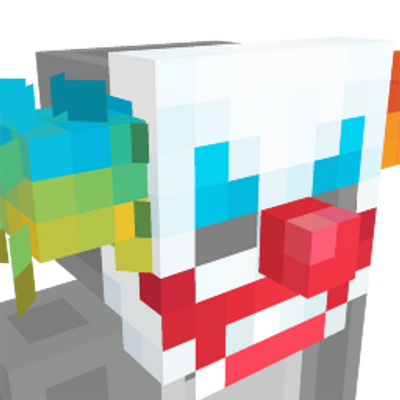 Smiles The Clown Mask on the Minecraft Marketplace by Polymaps