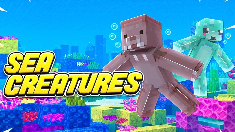 Sea Creatures on the Minecraft Marketplace by Vertexcubed