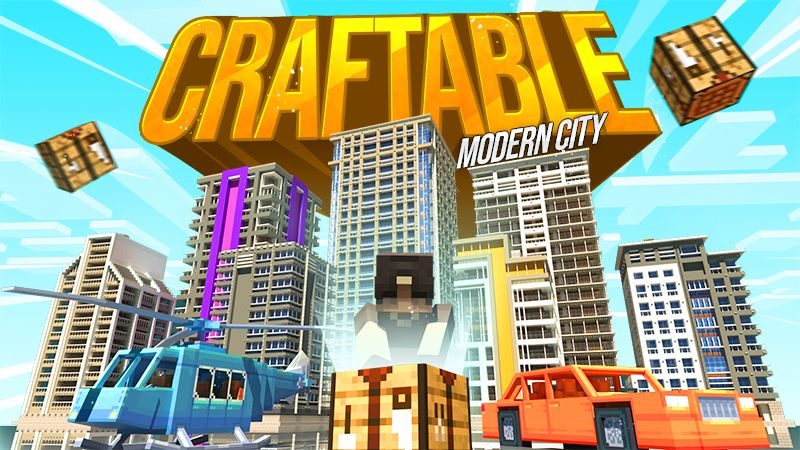 Craftable Modern City on the Minecraft Marketplace by Cypress Games