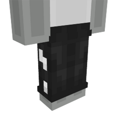Black  White Pants on the Minecraft Marketplace by CreatorLabs