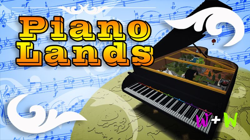 Piano Lands on the Minecraft Marketplace by The Wizard and Wyld