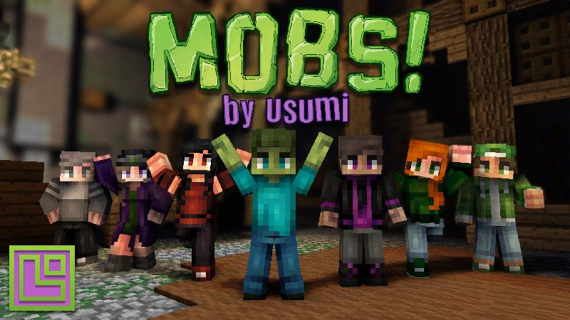 Mobs on the Minecraft Marketplace by Pixel Squared