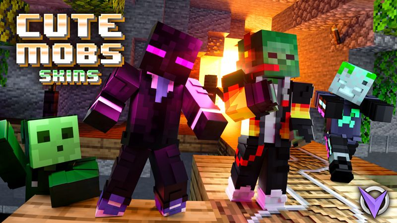 Cute Mob Skins on the Minecraft Marketplace by Team Visionary
