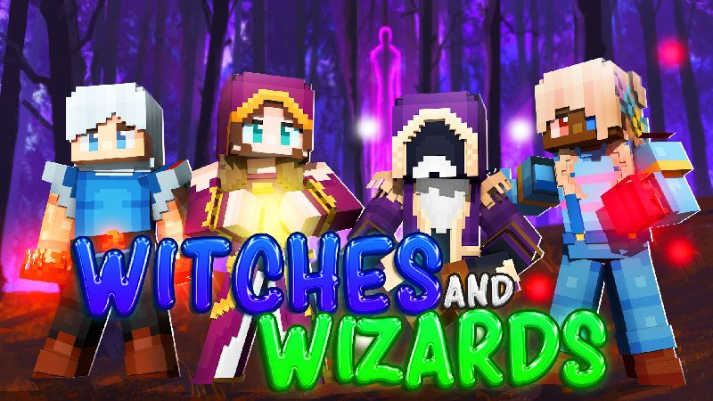 Witches  Wizards on the Minecraft Marketplace by Dark Lab Creations