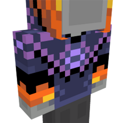 Spooky Hoodie on the Minecraft Marketplace by King Cube