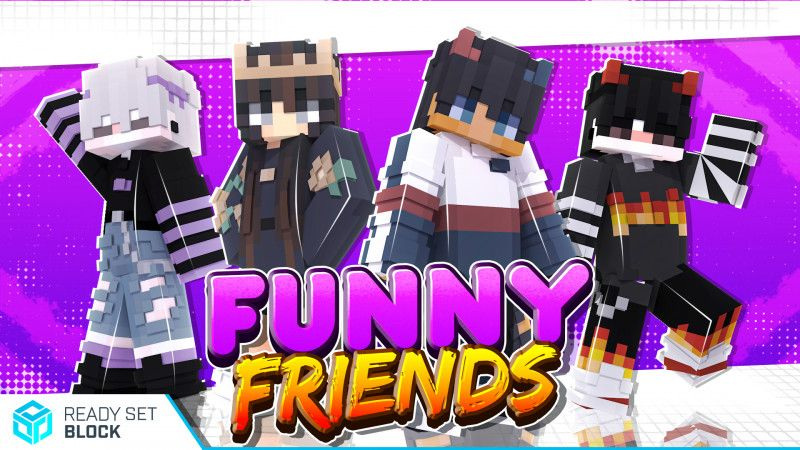 Funny Friends on the Minecraft Marketplace by Ready, Set, Block!