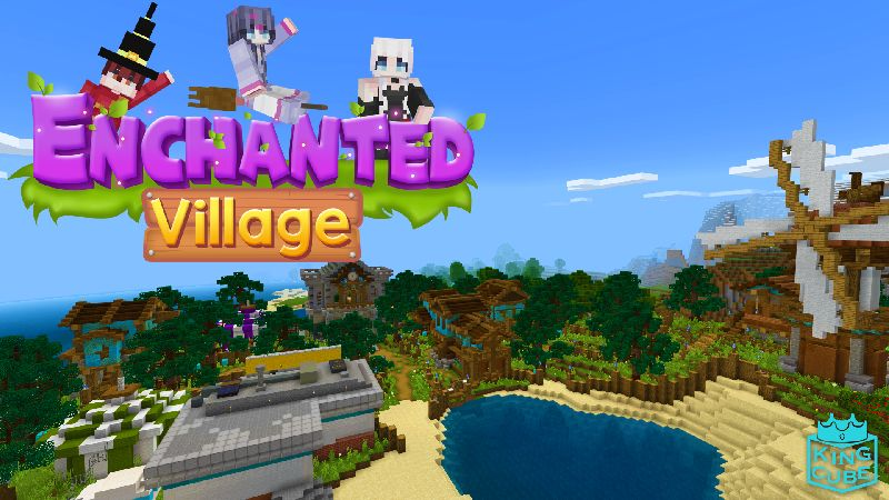 Enchanted Village on the Minecraft Marketplace by King Cube