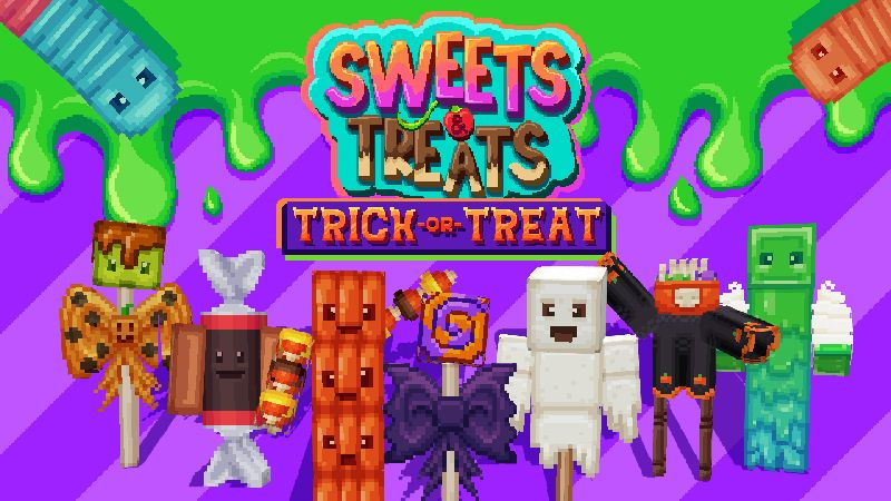 Sweets  Treats Trick or Treat on the Minecraft Marketplace by Paragonia