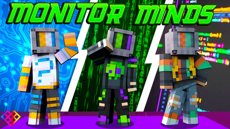 Monitor Minds on the Minecraft Marketplace by Rainbow Theory
