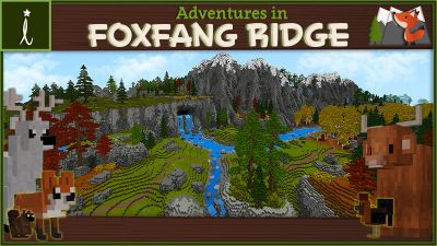 Adventures in FoxFang Ridge on the Minecraft Marketplace by Imagiverse