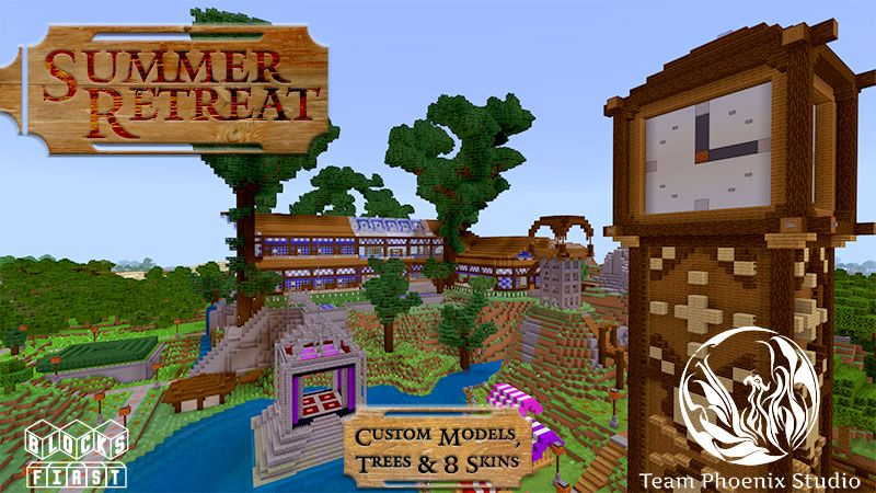 Summer Retreat on the Minecraft Marketplace by Team Phoenix Studio