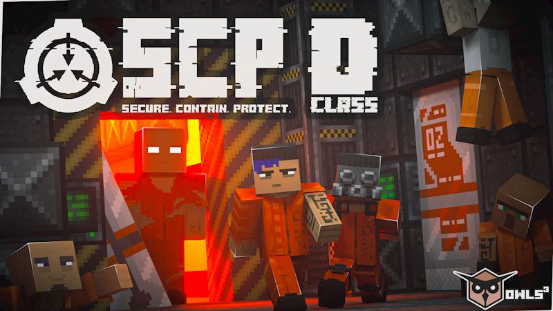 SCP Class D Personnel on the Minecraft Marketplace by Owls Cubed