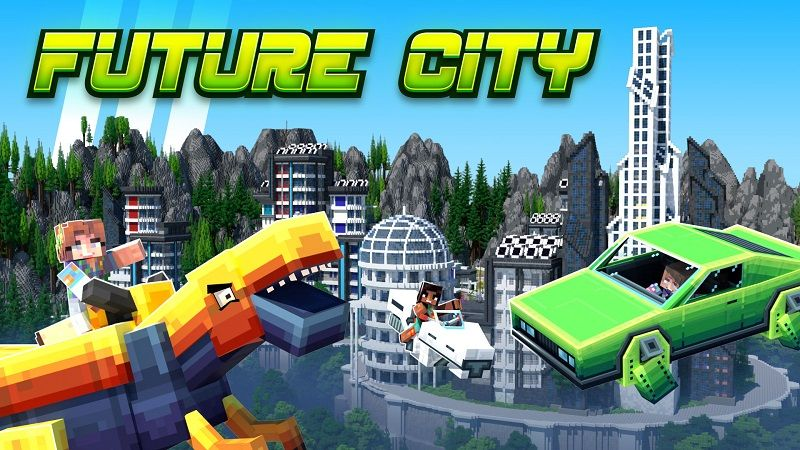 Future City on the Minecraft Marketplace by Nitric Concepts