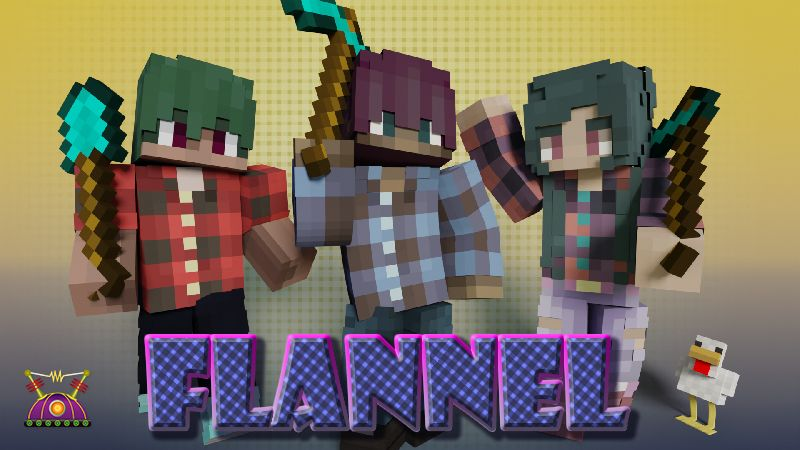 Flannel on the Minecraft Marketplace by Cleverlike