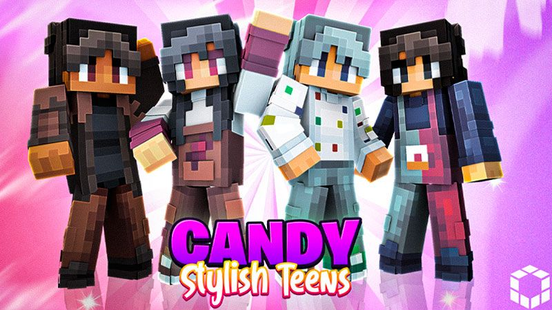 Candy Stylish Teens on the Minecraft Marketplace by UnderBlocks Studios
